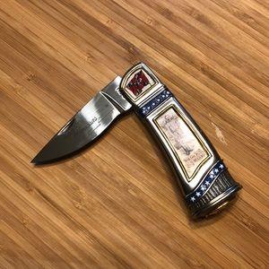 Franklin Mint Beauregard Manassas Civil War knife